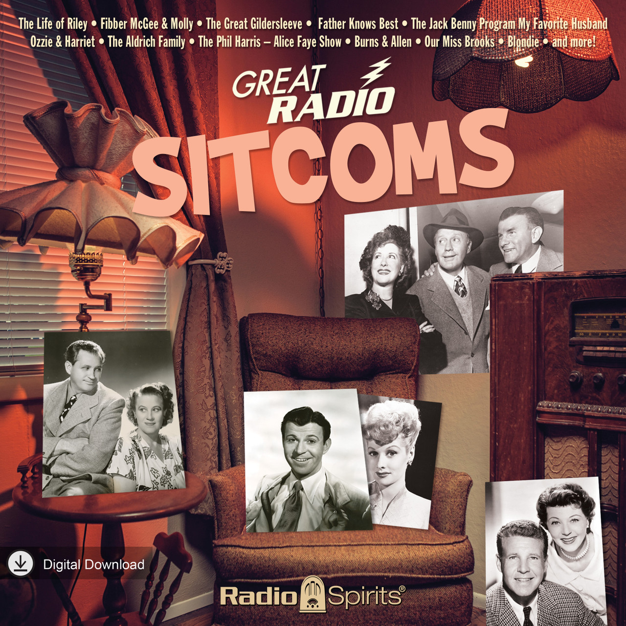 Great Radio Sitcoms (MP3 Download)