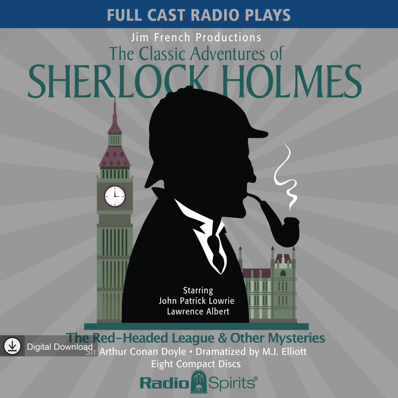 The Classic Adventures of Sherlock Holmes: The Red-Headed League & Other Mysteries (MP3 Download)
