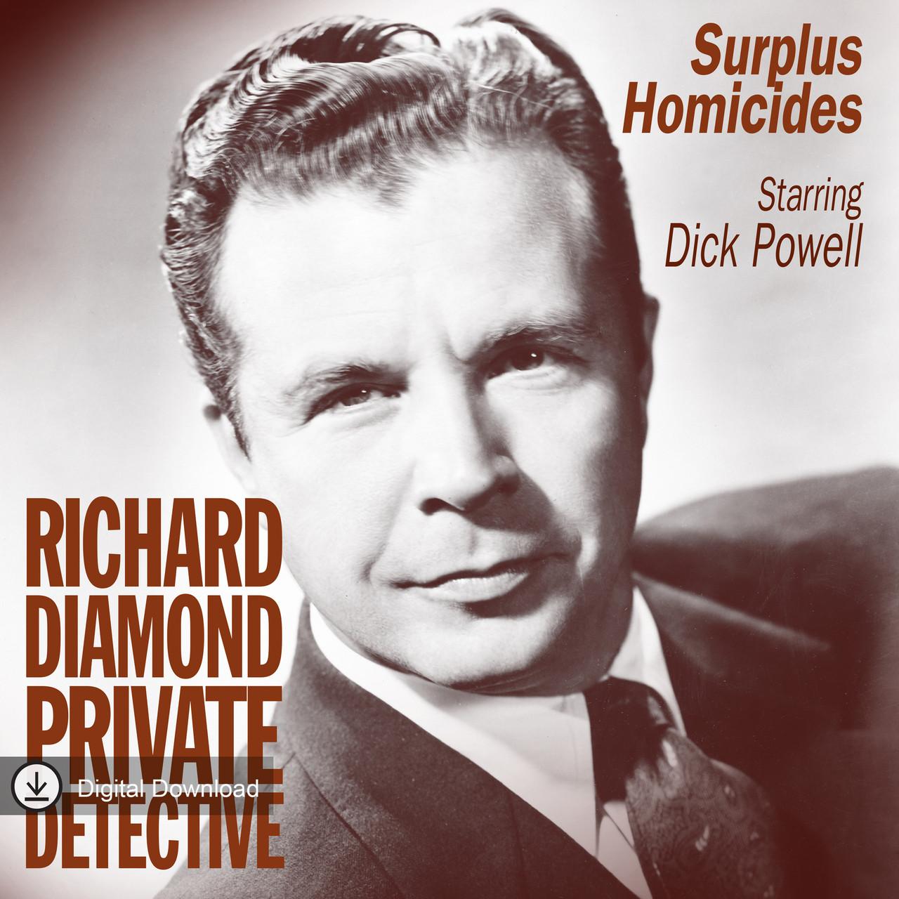Richard Diamond: Surplus Homicides (MP3 Download)