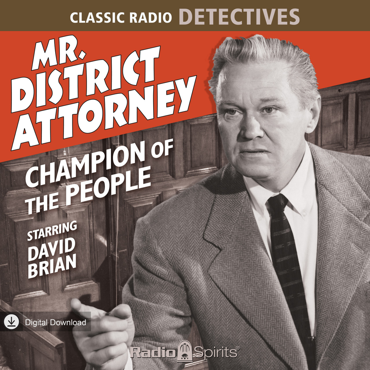 Mr. District Attorney: Champion of the People (MP3 Download)