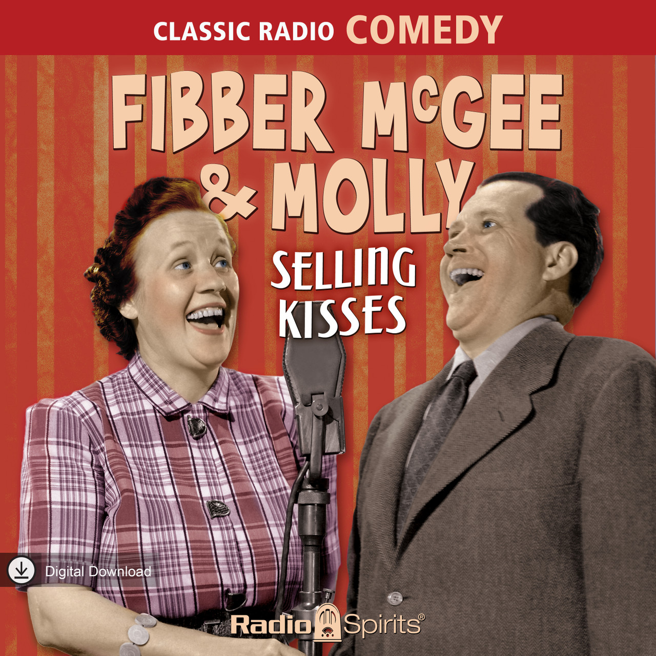 Fibber McGee & Molly: Selling Kisses (MP3 Download)