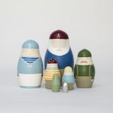 'Ships Crew' Russian Dolls