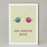 'Such Beautiful Music' Card