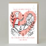 'Sleeping Beauty' Card