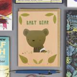 'Baby bear' Card