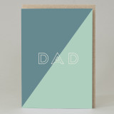'Dad' Text Card