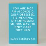 Dad 'Alcohol' Card