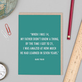 Father's Day Quote Card