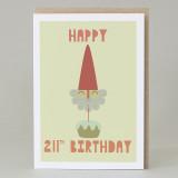 'Happy 211th Birthday' Card