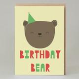 'Birthday Bear' Card