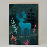 Magical Reindeer Christmas Card