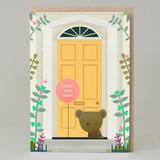 'Love You Mum' door card
