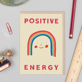 'Positive Energy' rainbow Card