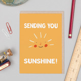 'Sending You Sunshine' Card