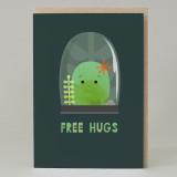 """Free hugs"" Card"