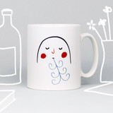 'Just breathe' Mug