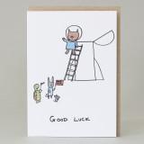 Pig Good Luck Card