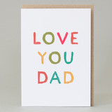 'Love you Dad' Card