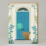 'Love You Dad' door card