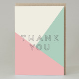 'Thank You' Text Card