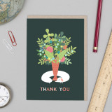 Sausage 'Thank You' Card