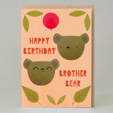 """Brother Bear"" Card"