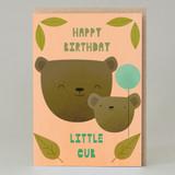 """Little Cub"" Blue Card"