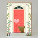 'Love You' door card