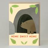 Bear 'Home Sweet Home' Card