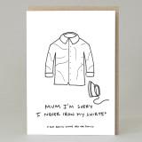 'Iron My Shirts' Card