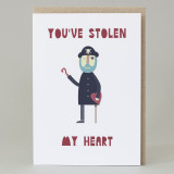 'You've Stolen My Heart' Pirate Card