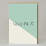 'Home' Text Card