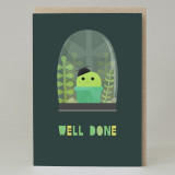 Cactus 'Well Done' Card