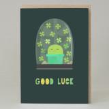 Cactus 'Good Luck' Card
