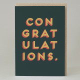 """Congratulations"" Card"