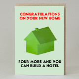'Congratulations On Your New Home' Card