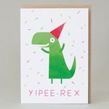 Yippee-Rex Card