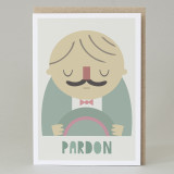 'Pardon' Card