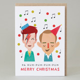 Bing & Bowie Christmas Card