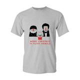 'Merry Christmas ya filthy Animals' T-Shirt