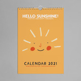 2021 Happy thoughts calendar