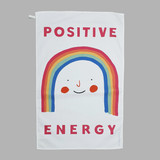 'Positive Energy' Tea Towel