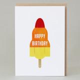 'Happy birthday' Lolly Card