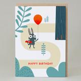 'Happy Birthday' Forest Walk Card