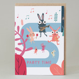 'Party Time' Forest Walk Card