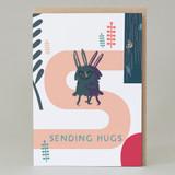 'Sending Hugs' Forest Walk Card