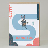'Thank you' Forest Walk Card