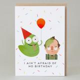 'I ain't afraid of no birthday' Ghostbusters Card