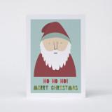 'Ho Ho Ho' Christmas Card