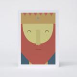"""King III"" Christmas Card"